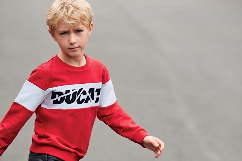 Детска блуза Sarabanda от серията на DUCATI 02382